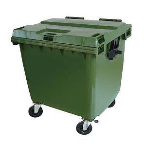 Container 1000 Lts com rodas sem pedal - Cód. 1000A