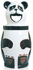 Lixeira em Fibra de Vidro Modelo Panda 120 Litros - Cód. 1003