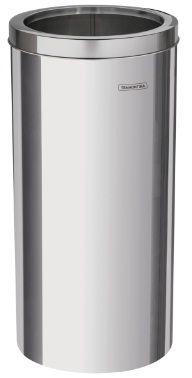 Lixeira em aço inox 30 litros tampa Aro – Tramontina - Cód. 94540/037