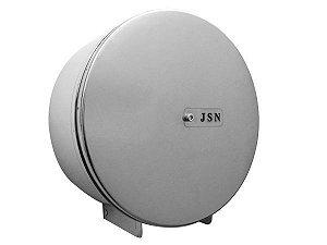Porta Papel em aço inox para papel higiênico de até 400 metros - Cod. N5I