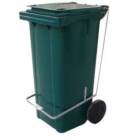 Coletor de lixo 120 Litros com pedal - Cód. L44