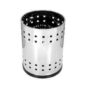 Cesto telado em aço inox 13 litros