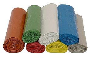 Saco Para Lixo 40 litros com 100 unidades sacos de uma só cor