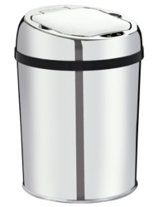 Lixeira automática com sensor 3 litros Inox - Cod. WTL300