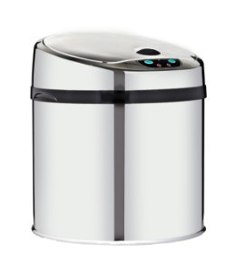 Lixeira automática com sensor 6 litros Inox - Cod. WTL600