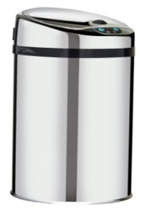 Lixeira automática com sensor 25 litros Inox