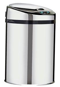 Lixeira automática com sensor 9 litros Inox - Cod. WTL900