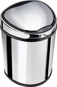 Lixeira automática com sensor 12 litros Inox