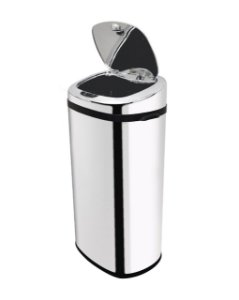 Lixeira automática com sensor 42 litros Inox