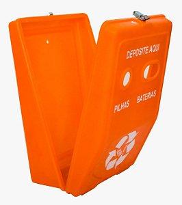 Coletor de Pilhas e Baterias 40 litros