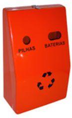 Coletor Pilhas E Baterias em fibra de Vidro 25 litros - Cód. PEB