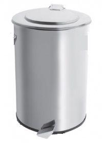 Lixeira Inox com Pedal e sem Balde Interno 75 Litros - Cod. 45582