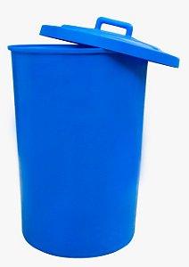 Cesto plástico redondo com de Sobrepor capacidade de 200 Litros