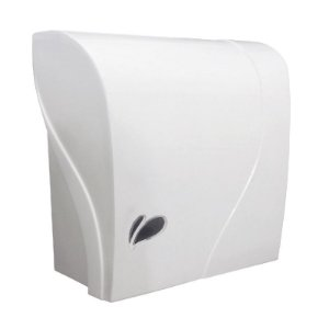 Dispenser plástico de parede para papel toalha interfolhas
