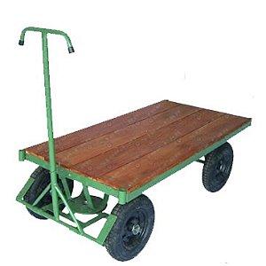 Carro Plataforma 5º Roda e sem Grade