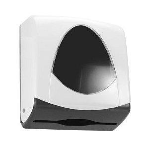 Suporte 2 ou 3 dobras injetado em plástico ABS com visor ABS cristal transparente