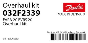 032F2339 Reparo Completo EVRA 20 Danfoss