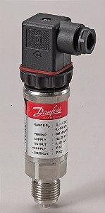 """060G4307 Transmissor de Pressão MBS 4701 0 a 10 bar 1/2"""" EEX Danfoss"""