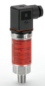 """060G2101 Transmissor de Pressão Danfoss AKS33 -1 a 12 bar 1/4"""" Danfoss"""