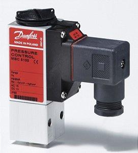 061B100266 Pressostato MBC 5100 FP (5 a 20) DA (0,4 a 2,5) P/BLOCO Danfoss