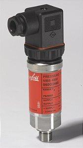 """060G6216 Transmissor de Pressão MBS4500 0 a 6 bar 1/4"""" Danfoss"""