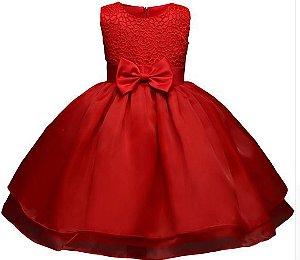 Vestido Vermelho - Tamanho 2