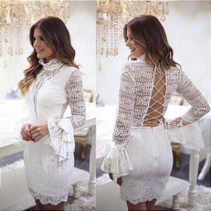 Vestido Renda Ariane Canovas
