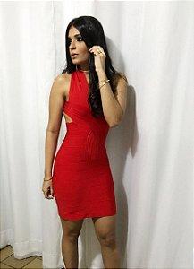 Vestido Bandage Vermelho