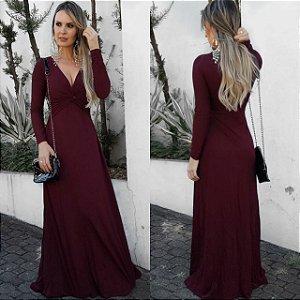 Vestido Longo -  Inverno coleção 2017