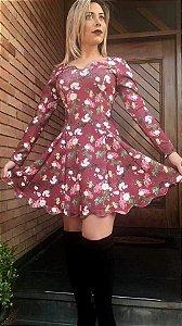 Vestido Curto  - Boneca