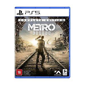 Jogo Metro Exodus: Complete Edition - PS5