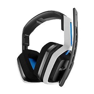 Headset Gamer Astro A20 Wireless Branco e Azul - Multiplataforma