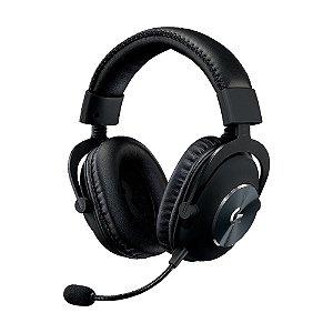 Headset Gamer Logitech Pro com fio - PC