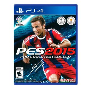 Jogo Pro Evolution Soccer 2015 (PES 15) - PS4