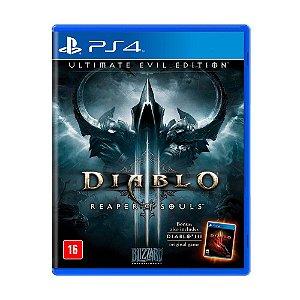 Jogo Diablo III: Reaper of Souls (Ultimate Evil Edition) - PS4 Nacional