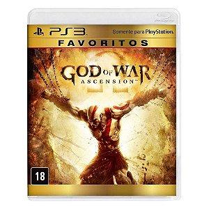 Jogo God of War Ascension - PS3