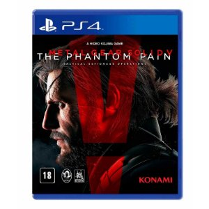Jogo Metal Gear Solid V: The Phantom Pain - PS4