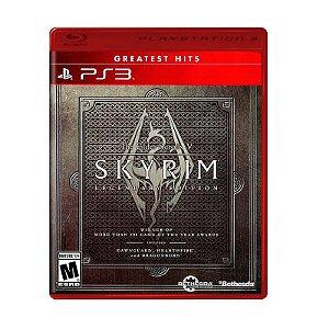 Jogo The Elder Scrolls V: Skyrim (Legendary Edition) - PS3