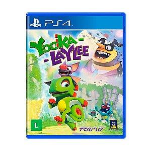 Jogo Yooka-Laylee - PS4