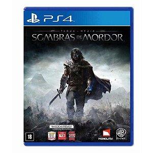 Jogo Terra Média: Sombras de Mordor - PS4