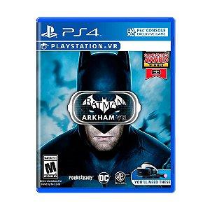 Jogo Batman Arkham VR - PS4 VR