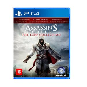 Jogo Assassin's Creed: Ezio Collection - PS4