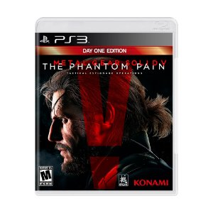 Jogo Metal Gear Solid V: The Phantom Pain (Day One Edition) - PS3