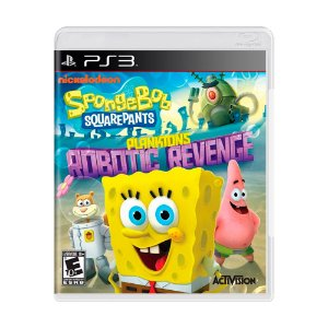Jogo SpongeBob SquarePants: Plankton's Robotic Revenge - PS3