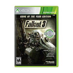 Jogo Fallout 3 (GOTY) - Xbox 360