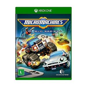 Jogo Micro Machines: World Series - Xbox One