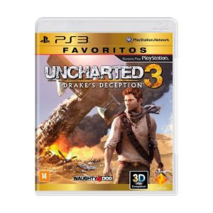 Jogo Uncharted 3: Drake's Deception - PS3