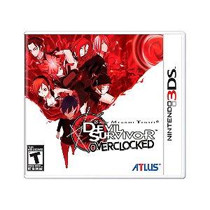 Jogo Shin Megami Tensei: Devil Survivor Overclocked - 3DS