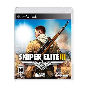 Jogo Sniper Elite III - PS3