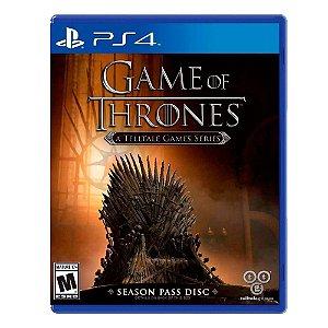 Jogo Game of Thrones: A Telltale Games Series (Season Pass) - PS4